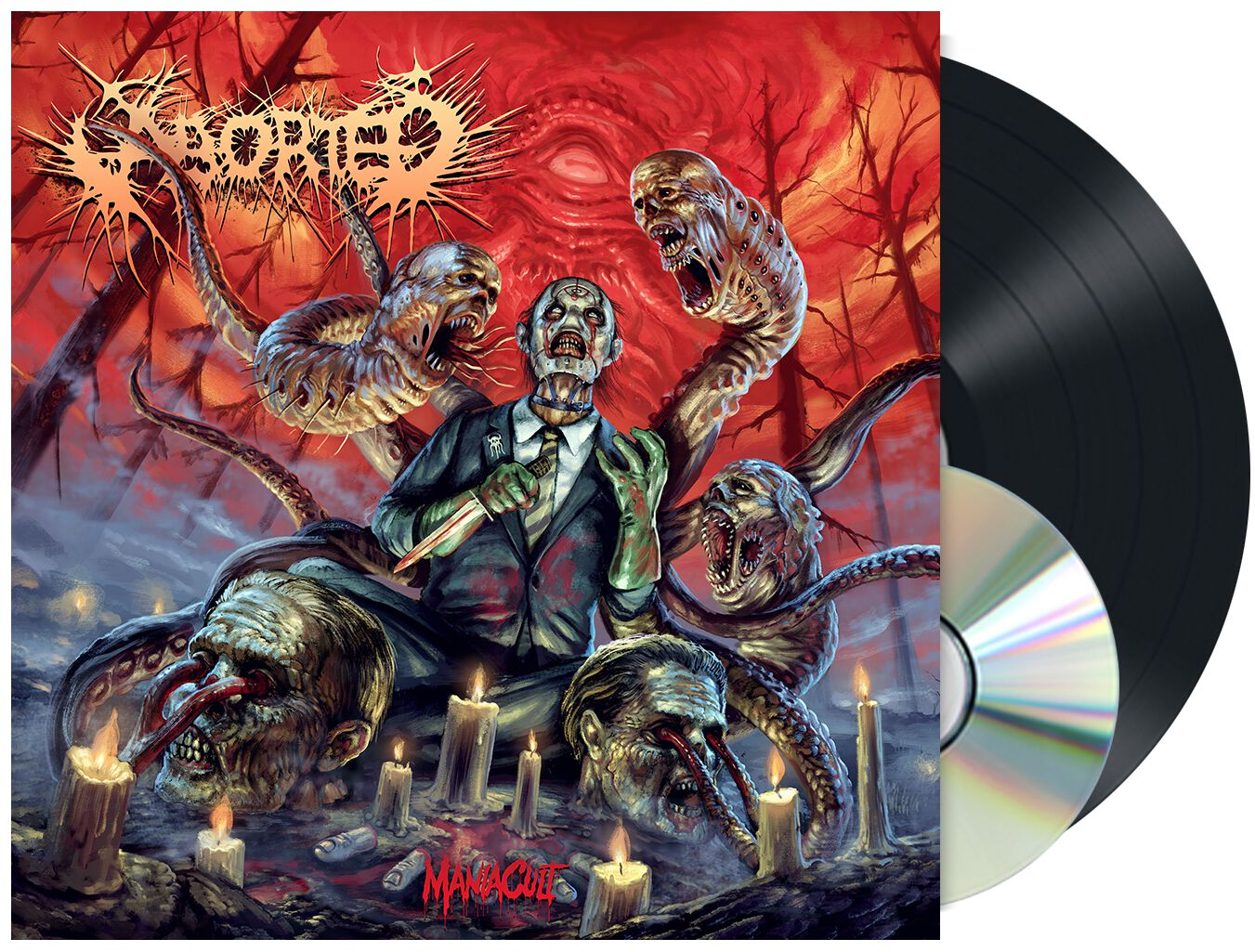 Image of Aborted ManiaCult LP & CD schwarz