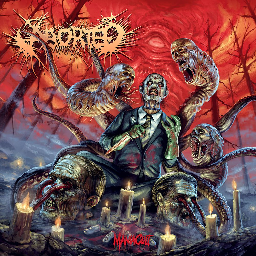 Image of Aborted ManiaCult LP & CD lila