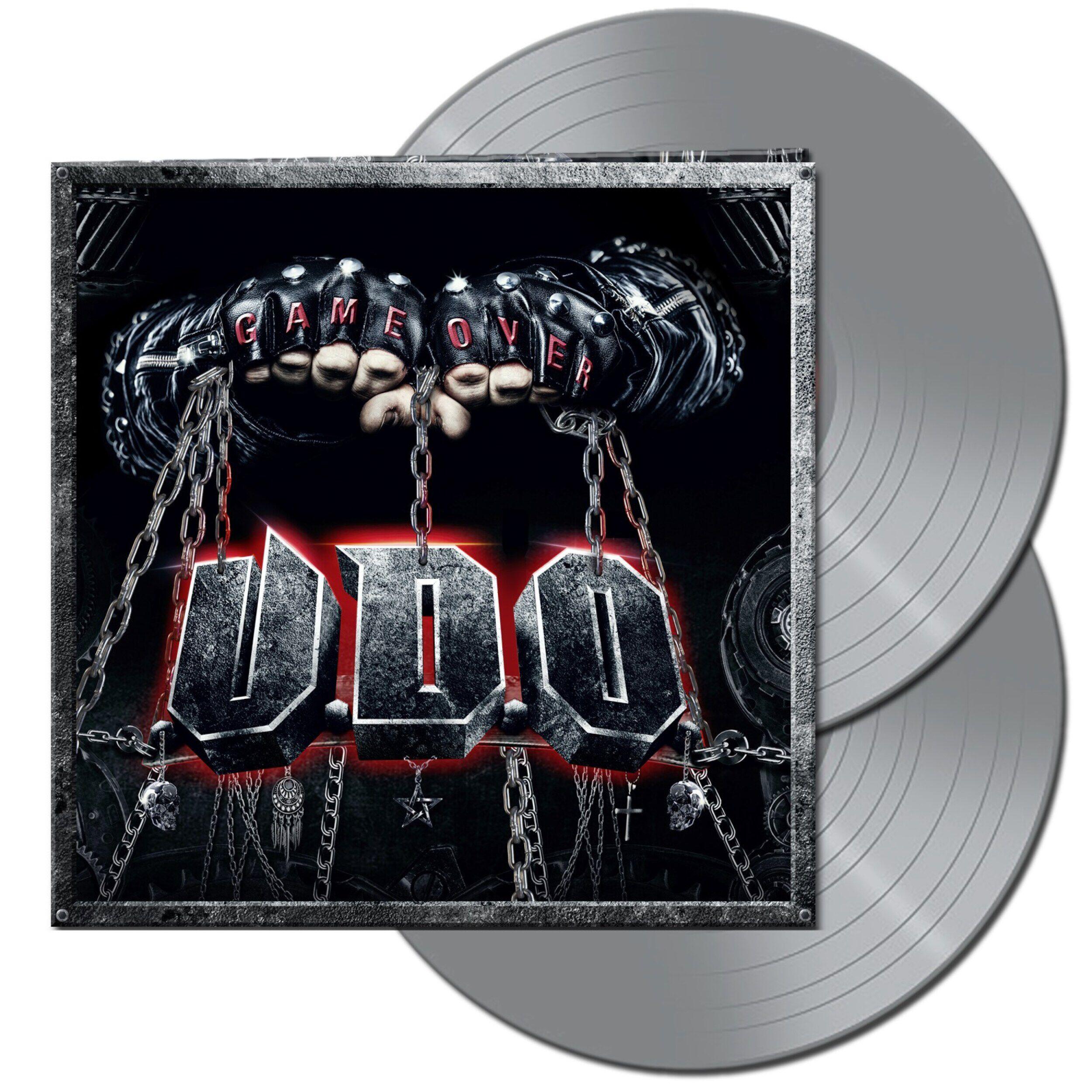 U.D.O. Game over  LP  silberfarben