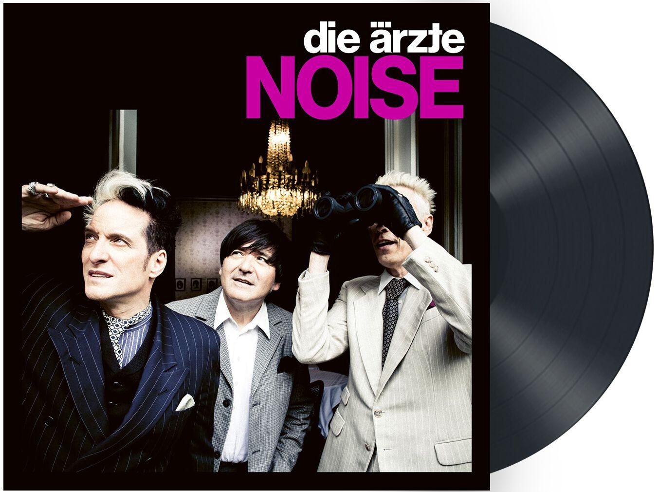 Image of Die Ärzte NOISE 7 inch-SINGLE schwarz