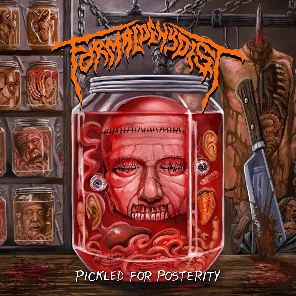 Formaldehydist Pickled for posterity CD multicolor 1150902