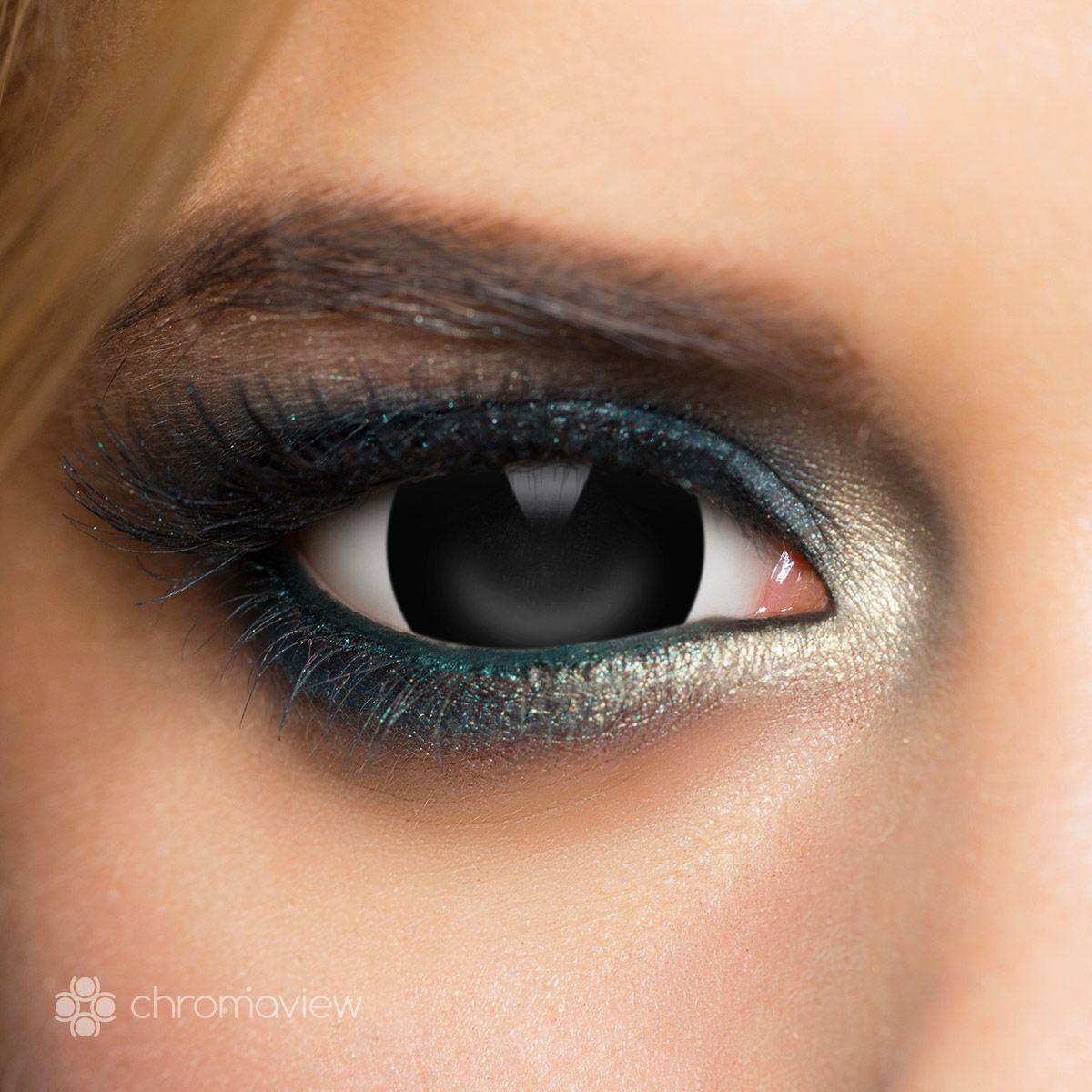 Image of Chromaview - Mini Sclera Black - Lenti a contatto - Unisex - nero