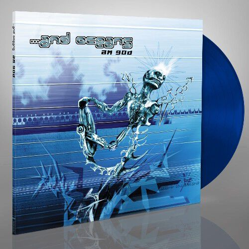 Image of ... And Oceans A.M.G.O.D. LP blau