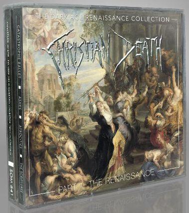 Christian Death The Dark Age Renaissance Collection Part 1: The Renaissance CD multicolor SOM641