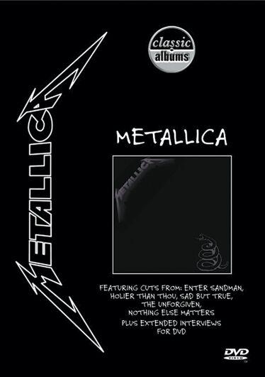 Image of   Metallica Black album DVD standard