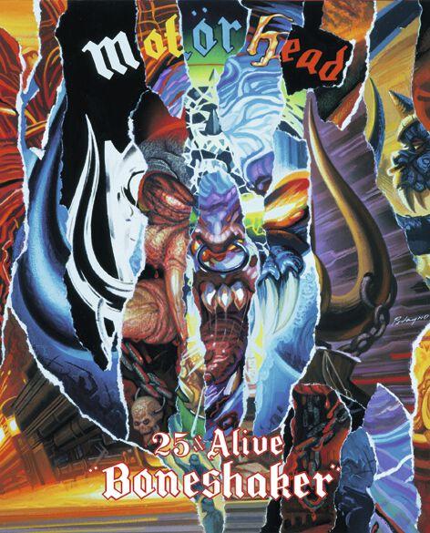 Image of   Motörhead 25 & Alive / Boneshaker DVD standard