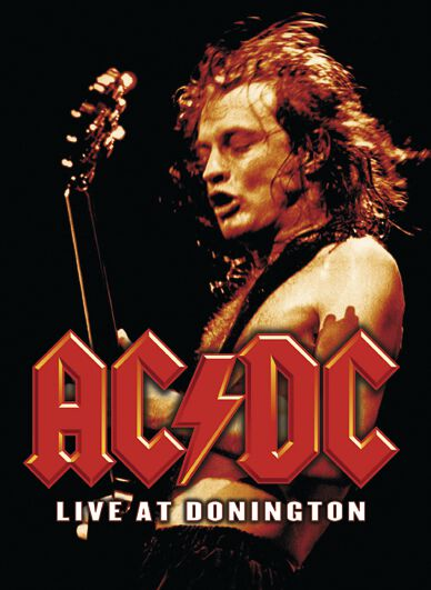Image of   AC/DC Live at Donington DVD standard