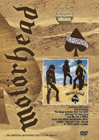 Image of   Motörhead Ace of spades DVD standard