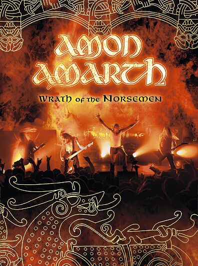 Image of   Amon Amarth Wrath of the norsemen 3-DVD standard