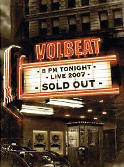 Image of   Volbeat Live - Sold out 2-DVD standard