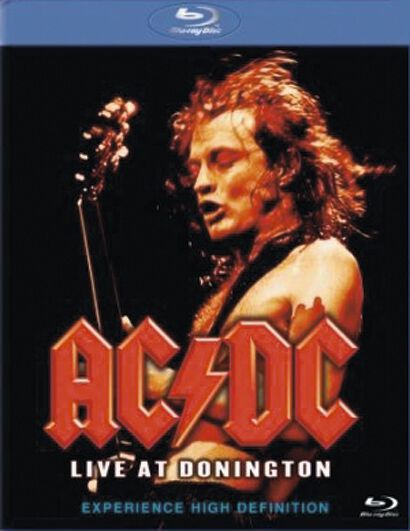 Image of AC/DC Live At Donington Blu-ray Standard