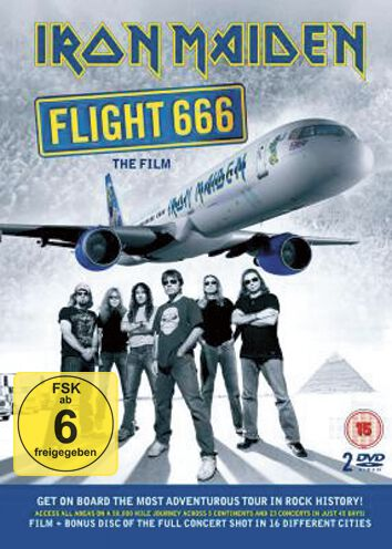 Image of   Iron Maiden Flight 666 - The Film Blu-ray standard