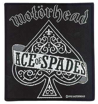 Image of   Motörhead Ace Of Spades Patch standard