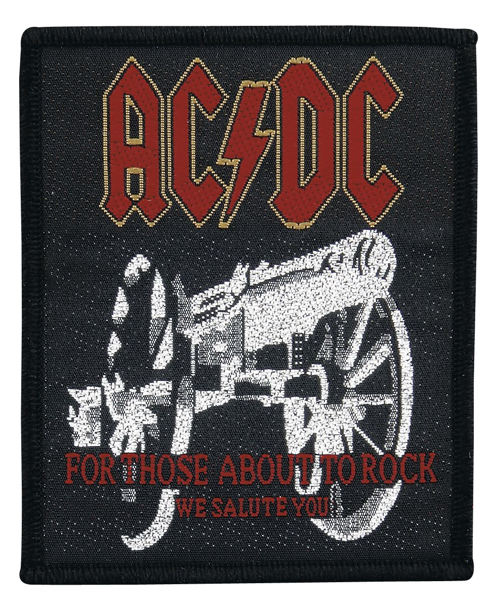 Image of   AC/DC For Those About To Rock Patch standard
