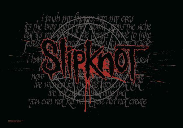 Image of   Slipknot Splattered Flag multifarvet