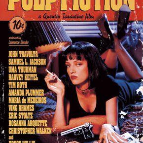 Pulp Fiction Affiche Poster multicolore