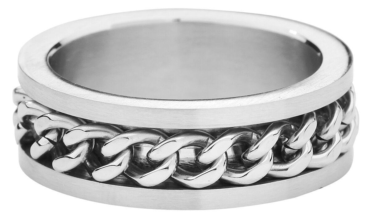 Basics - Pierścienie - Pierścień etNox Hard and Heavy Mesh Steel Pierścień srebrny - 803913