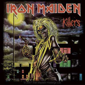 Image of   Iron Maiden Killers Patch standard