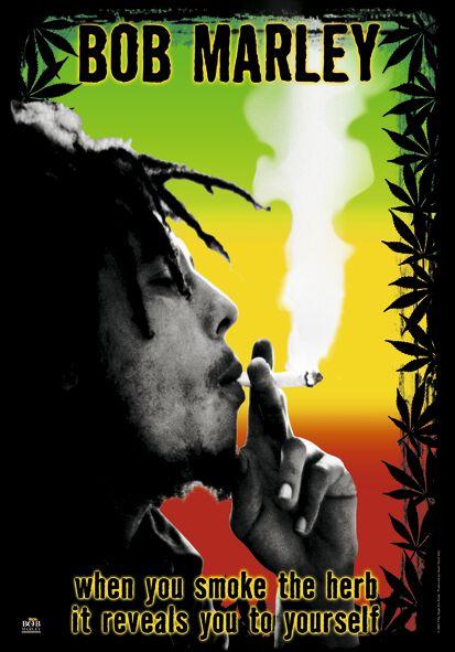 Zespoły - Flagi - Flaga Bob Marley Herb Flaga wielokolorowy - 807857