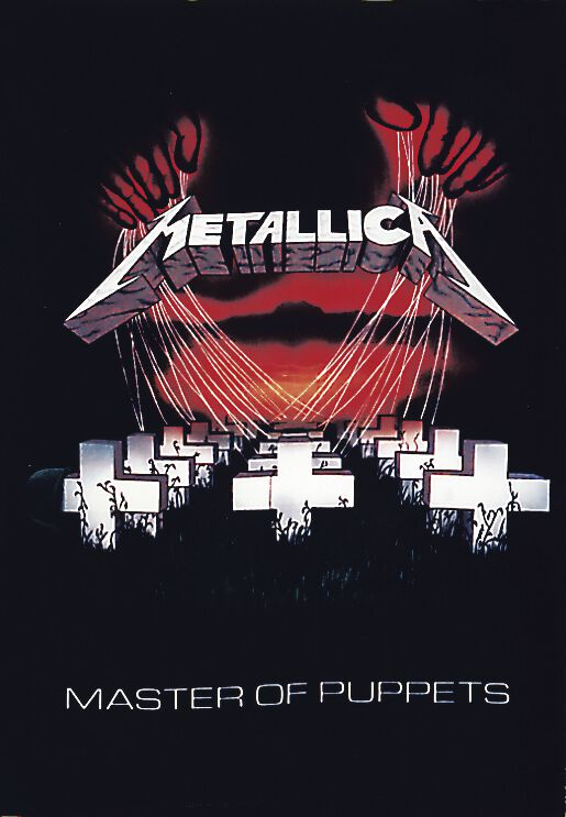 Image of   Metallica Master Of Puppets Flag standard