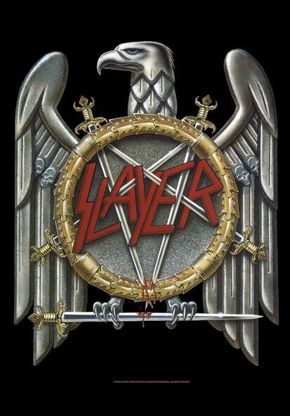 Image of   Slayer Eagle Flag multifarvet