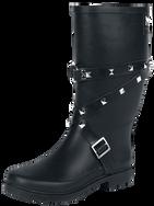 Black Premium by EMP Let It Rain Gumboots