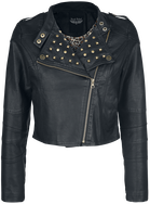 Like It Like That / Rock Rebel by EMP / Imitation Leather Jacket