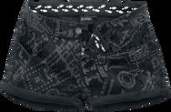 Harry Potter Marauder's Map Hot Pants