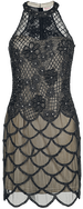 Maddie Halter Neck Dress / GatsbyLady / Medium-length dress