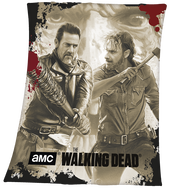 Negan & Rick / The Walking Dead / Blankets