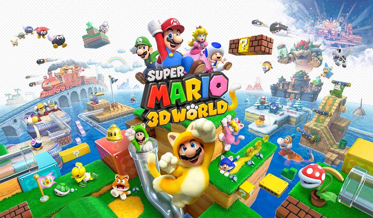 Super Mario 3D World erscheint am 12. Februar.