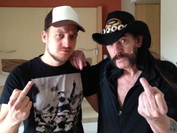 Lemmy Killmister und Ben Foitzik