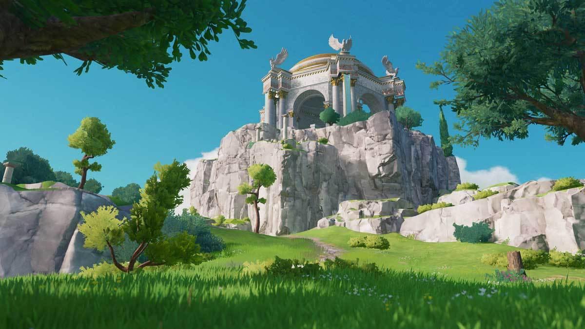 Epische Paläste in wunderschönen Landschaften - gerne!
