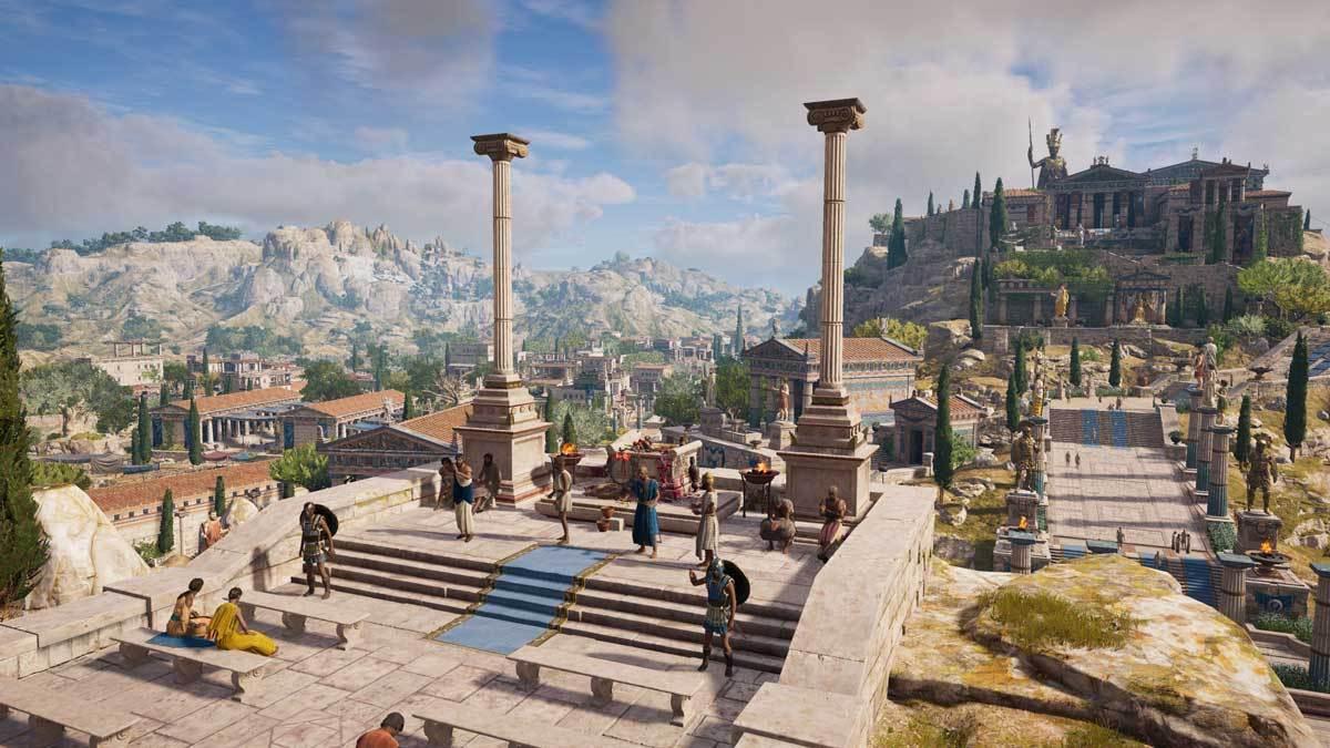 Mit jedem weiteren Assassin's Creed-Titel wird die Welt größer und interaktiver.