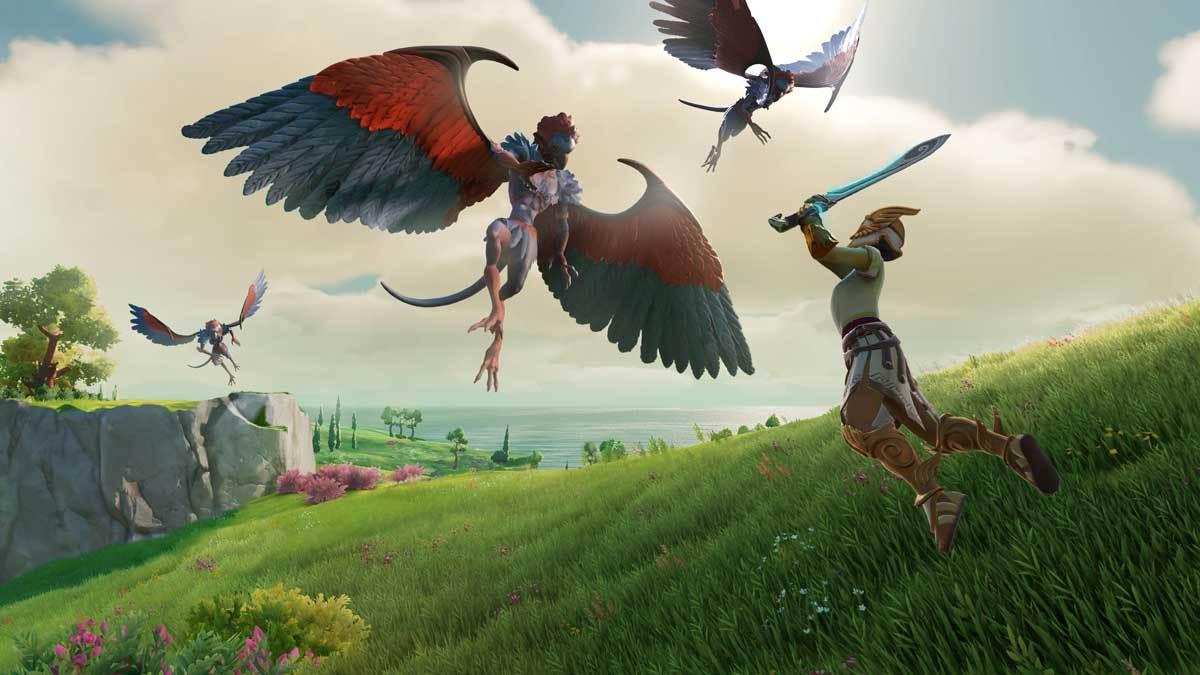 Die malerische Optik erinnert sehr stark an The Legend of Zelda: Breath of the Wild.