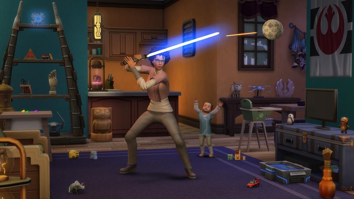 Die Sims 4 Star Wars: Reise nach Batuu ist ab sofort verfügbar.