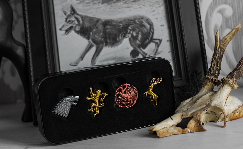 Game Of Thrones Haus Wappen Button-Set