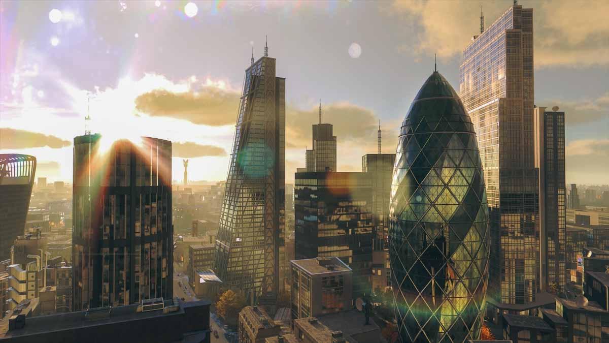 London ist eine optisch beeindruckende Stadt in Watch Dogs: Legion.