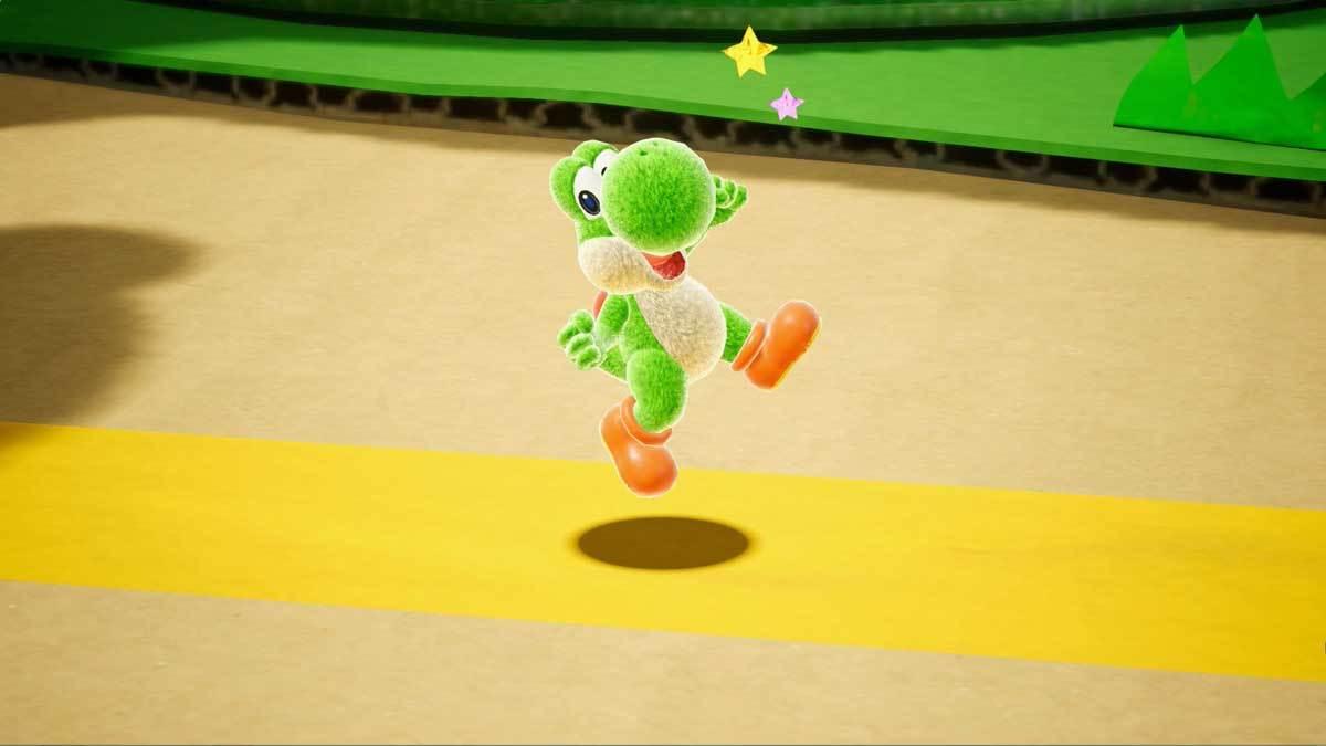 Der kleine Dino Yoshi bekommt sein nächstes Solo-Abenteuer.