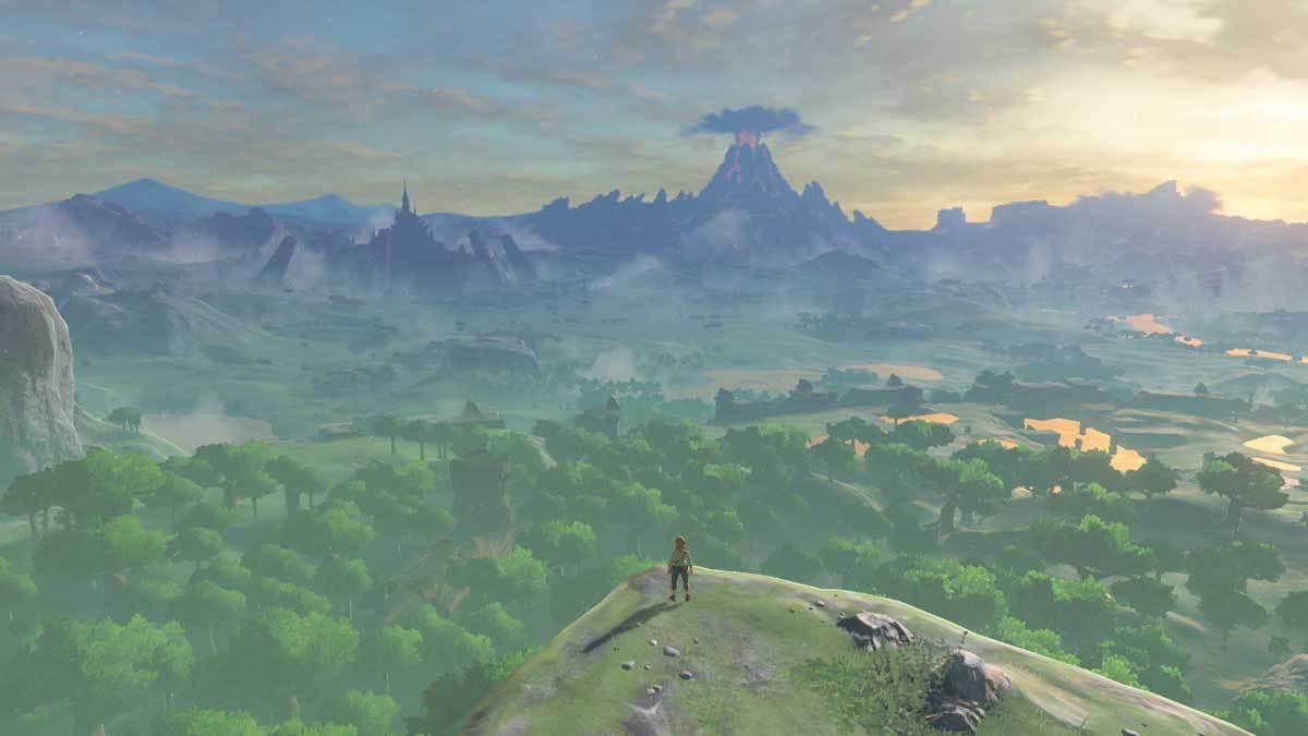 The Legend of Zelda: Breath of the Wild hat eine so unfassbar große Welt, die wir nahezu frei erkunden können.