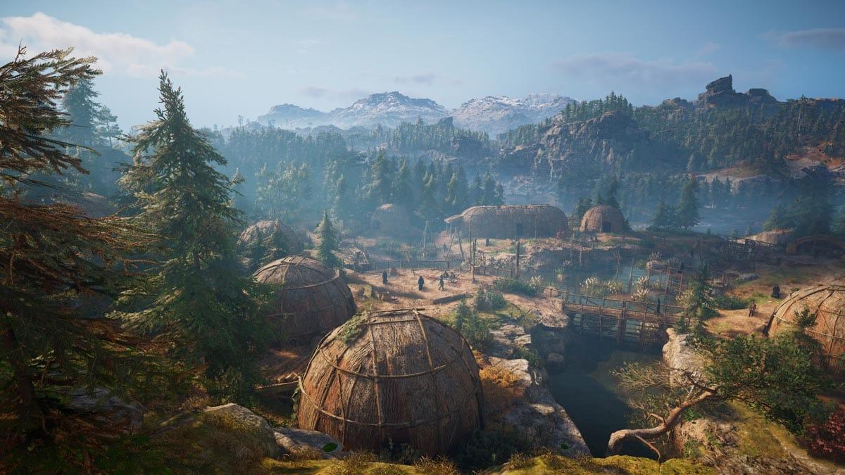 In Assassin's Creed Valhalla erkunden wir ferne Länder - ist das hier Amerika?