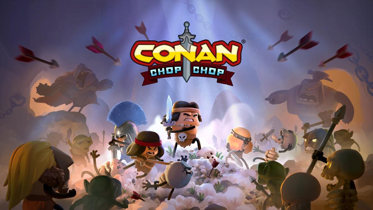 Conan Chop Chop erscheint Anfang 2021.