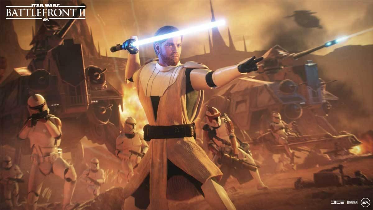 Obi-Wan Kenobi ist nun spielbar in Star Wars Battlefront II.