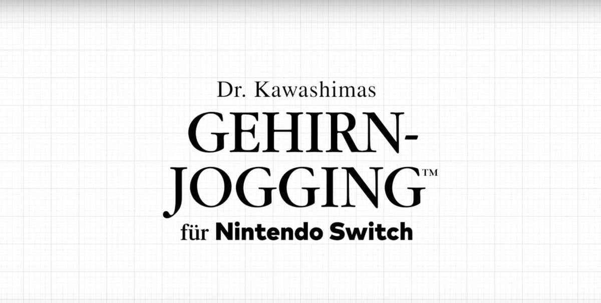 Dr. Kawashimas Gehirn-Jogging erscheint am 3. Januar 2020.