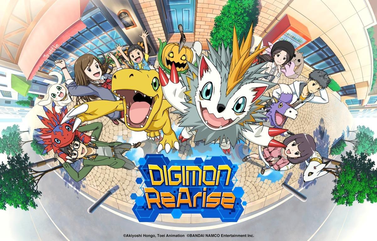 Digimon ReArise ist ab sofort für iOS und Android verfügbar.