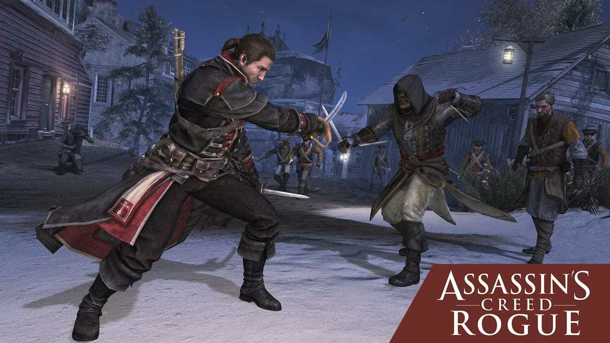 Assassin's Creed Rogue ist auch dabei.