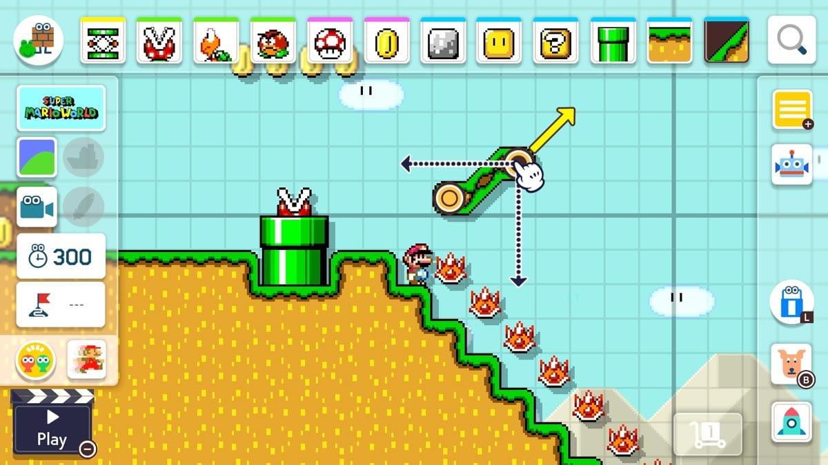 Kostenloses Update für den Super Mario Maker 2.
