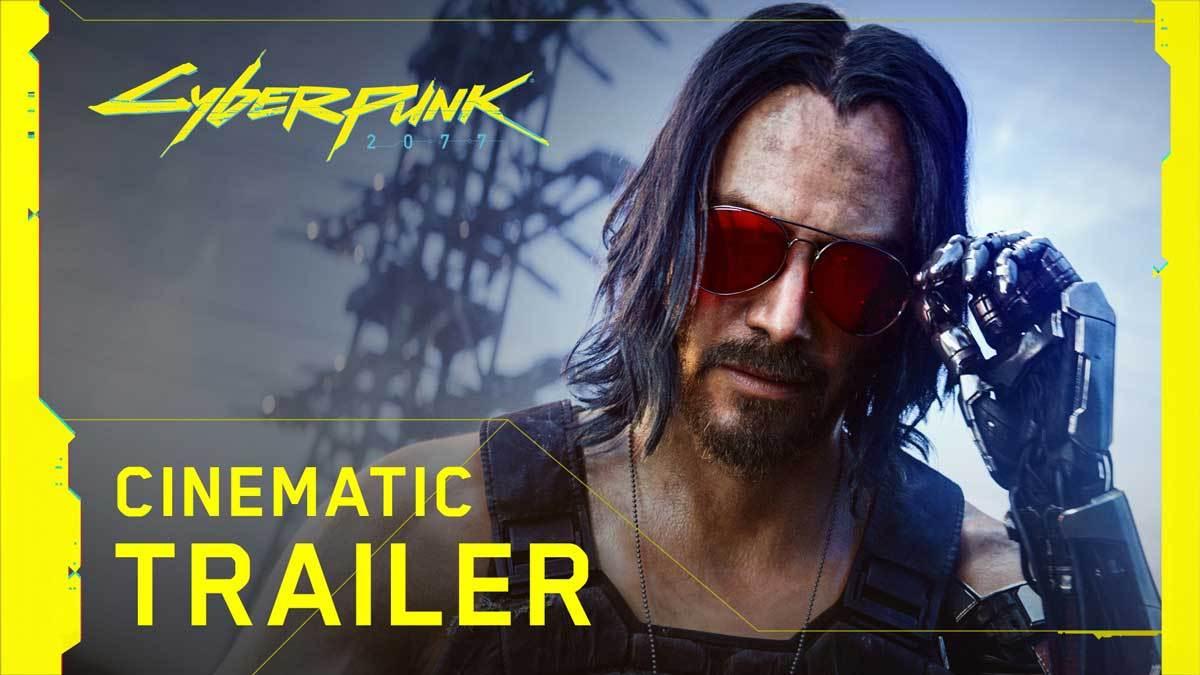 Keanu Reeves in der Welt von Cyberpunk 2077 - oh shit!