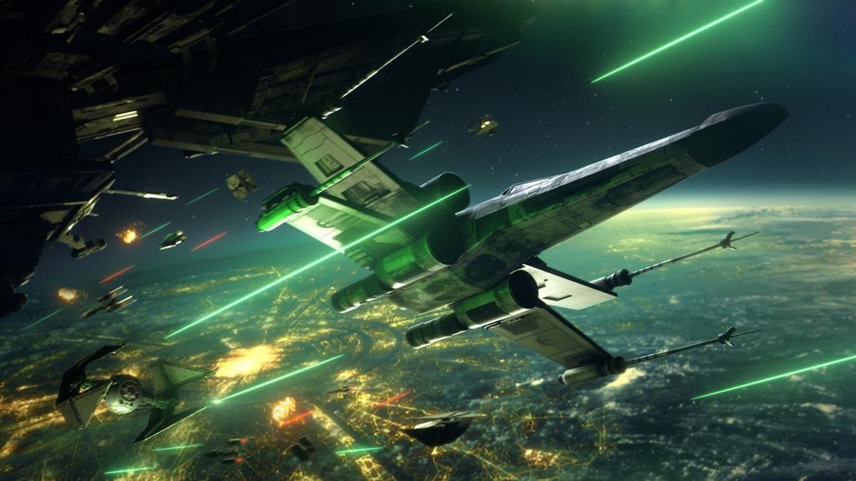 Star Wars: Squadrons bietet arcadige Dogfights im Weltraum.