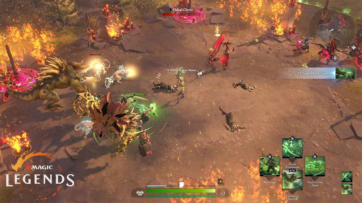 Die offene Beta zu Magic: Legends startet am 23. März.